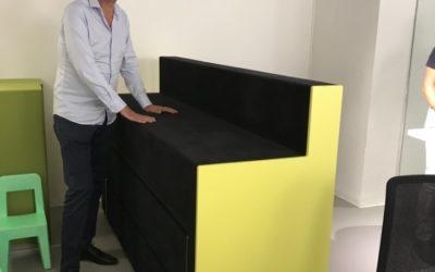 Visite de l'entreprise Lista Office et découverte des meubles Martela