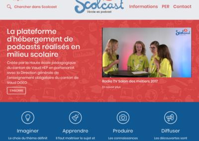 Déposer des clips vidéo et/ou audio sur Scolcast
