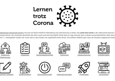 La HEP Schwytz ouvre une page de ressources pour le e-learning