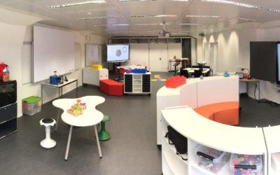 "Un Future Classroom Lab contribue à la plateforme ""École du Futur"" de la HEP Vaud."