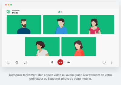 Visioconférence : Infomaniak Meet une alternative suisse et sécurisée à Zoom