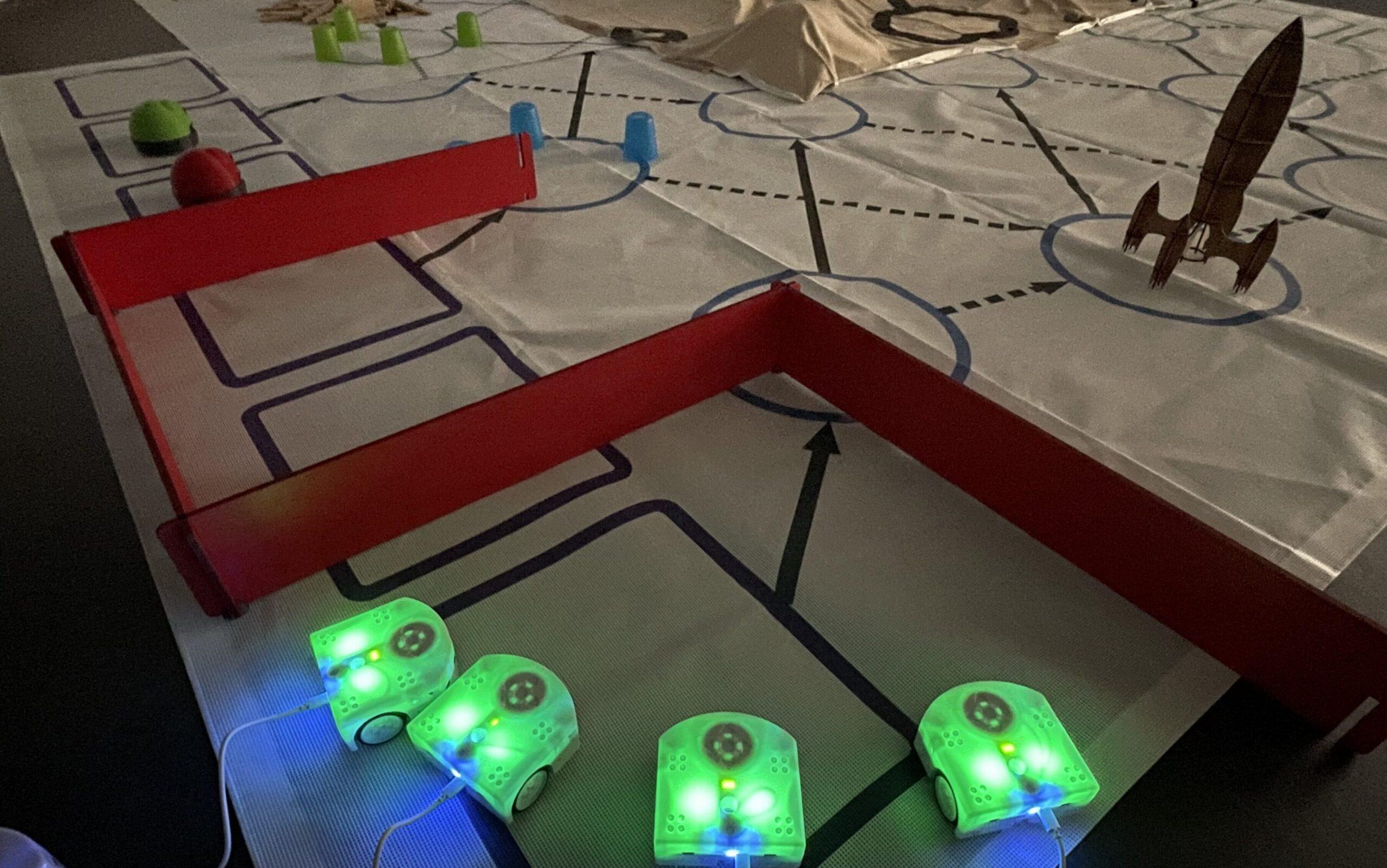 Le robot  éducatif Thymio - Exploration approfondie