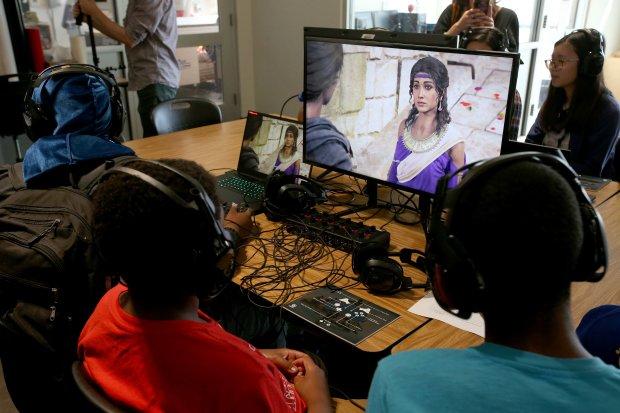 Les jeux vidéos en classe (1) - l'histoire en immersion