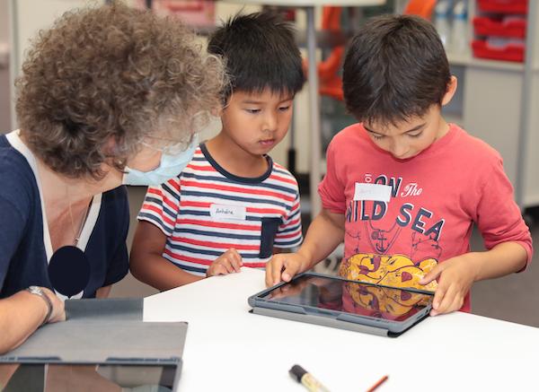 Des iPads en classe - maîtriser les gestes de base (1)